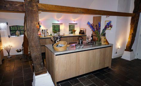 Landelijke keuken in woonboerderij